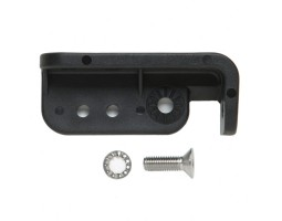 Mounting Bracket c/w Fixings in Plastic