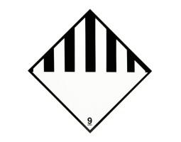 Hazard Diamond Label One Colour - Other Dangerous Substance