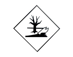 Triplex Warning Diamonds Single Sided for Environmentally Hazardous
