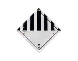 Folding Warning Diamond Panel O.D.S
